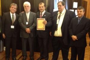 Comitiva maranhense recebe a certificação da OIE, na França.