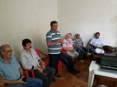 O vice-presidente da Faema abre capacitação para público formado por produtores rurais, técnicos e sociedade civil.