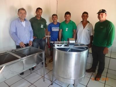 Equipe técnica do Senar presta assistência aos produtores rurais