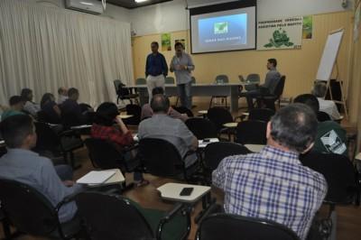 Superintendente do Senar-MA, Luiz Figueiredo explica aos presentes a importância do novo programa.