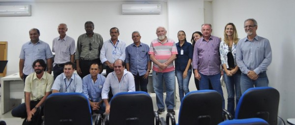 Parceiros do Matopiba, pesquisadores, produtores rurais e convidados,  durante reunião na Embrapa Cocais.