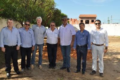 Comitiva  da Faema/Senar visita sede do sindicato de Balsas, (Sindibalsas), durante lançamento do Matopiba.