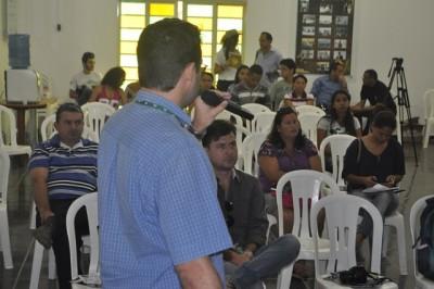 Palestra ministrada  sobre o CNA Car, pelo assessor técnico do CNA, Paulo Vicente Costa.