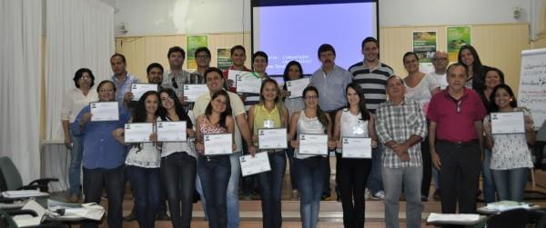 Superintendente Luiz Figueiredo encerra treinamento para instrutores