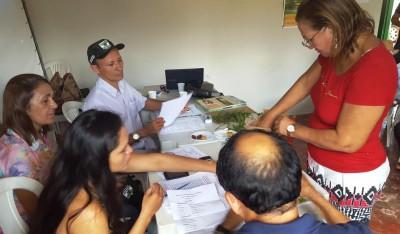 Apuração dos votos no Sindicato de Pedreiras, esta semana.