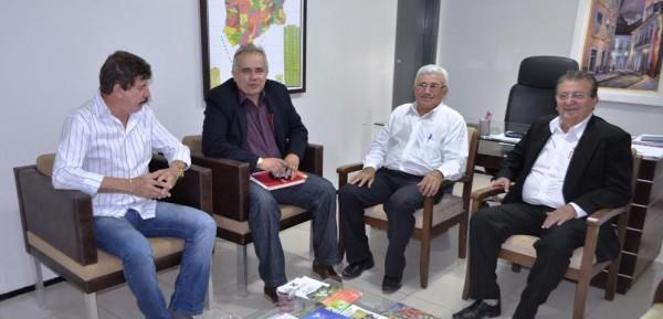 Federação e Senar firmam parceria para a realização da Agritec de São Bento.