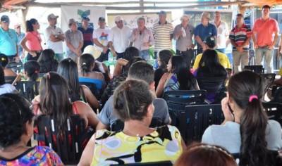 : Produtores Rurais, autoridades, representantes do Governo visitam a AgroLoreto.
