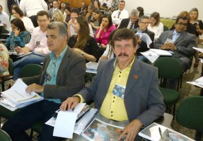 Superintendente do Senar, Luiz Figueiredo, no  seminário de atualização de conhecimento com  o Tribunal de Contas da União (TCU).