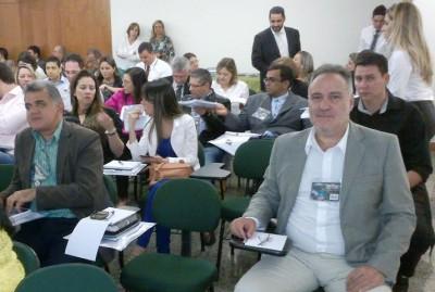 Assessor jurídico do Senar, José Luiz Camargo, participa do seminário em Brasília.