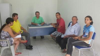 Reunião em Chapadinha para definir implantação do curso de agronegócio.