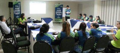 Segundo encontro do CNA Jovem é marcado por palestra sobre liderança.