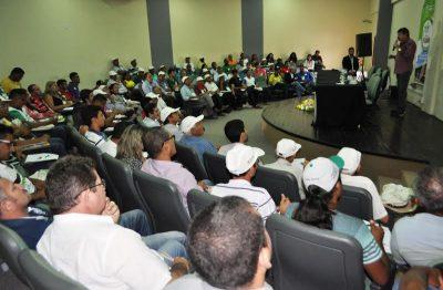 Figueiredo faz abertura do seminário apresentando projeto PRADAM.