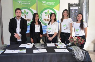 Equipe de organização do evento em Santa Inês.