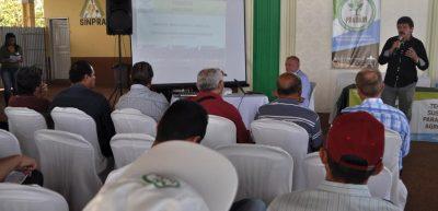 Luiz Figueiredo apresenta projeto e fala da necessidade de sua aplicação na região.