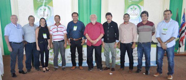 Equipe do SENAR e parceiros após evento no Sinpra de Açailândia.