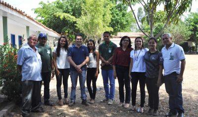 Equipe do Senar e sindicato durante lançamento das turmas em Chapadinha