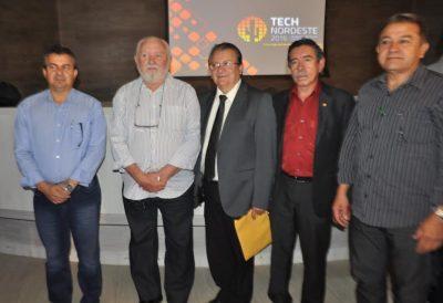 Equipe do Sistema Faema/Senar no lançamento do Fórum Tech Nordeste