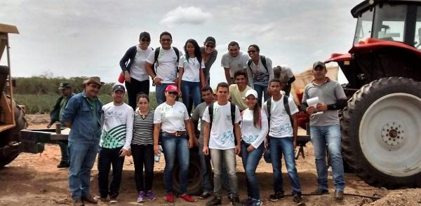 Alunos do curso de Agronegócio promovido pelo Senar no polo Colinas (MA).