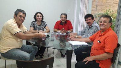 Equipe do sistema Faema/Senar e Sebrae em reunião sobre o NCR